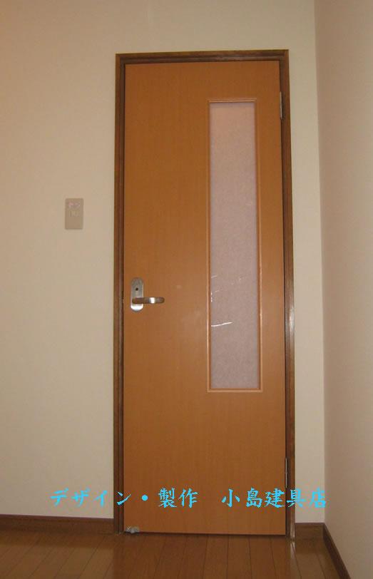 額入りトイレドア